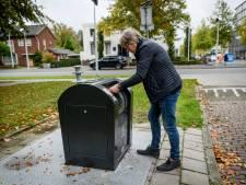 Afvaltruc werkt ook aan de Platinastraat in Hengelo: 'Bingo!'