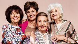 """VIDEO. """"Ik wil blijven groeien, tot in het graf"""", 4 golden girls nu in NINA"""