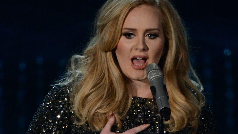 Adele: nu geen stream... Beeld AFP