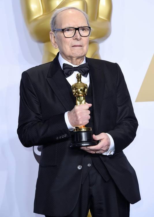 Morricone met zijn Oscar