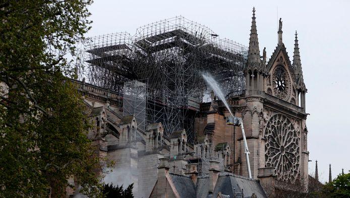 La cathédrale Notre-Dame de Paris, ce mardi matin.