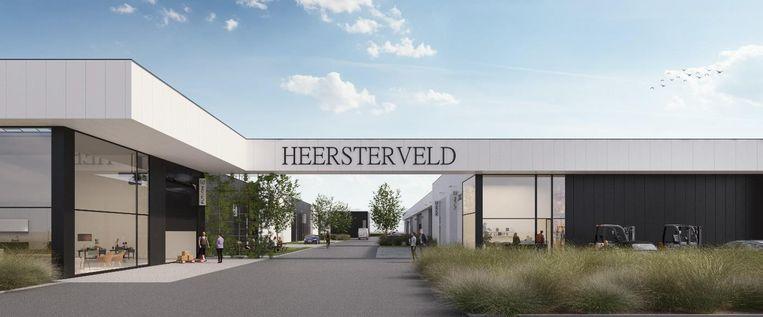 Het nieuw te ontwikkelen bedrijvenpark Heersterveld is gelegen langsheen de Heersterveldweg op de zone Tongeren-Oost vlak bij de E313.