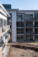 TT-2020-000652 - ALMELO - Voormalige bejaardenhuis De Klokkenbelt, verbouwd tot appartementen voor InteraktContour. Is bijna klaar.
