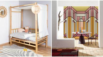 Van kinderkamers in bamboe tot glas-in-loodramen: dit zijn de nieuwste woontrends gespot op beurzen