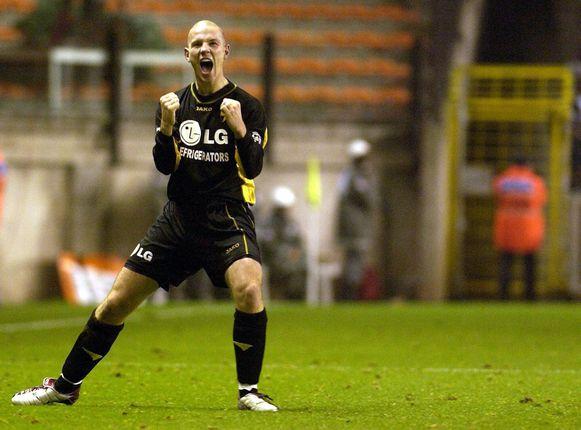 Zijn winning goal op Anderlecht.
