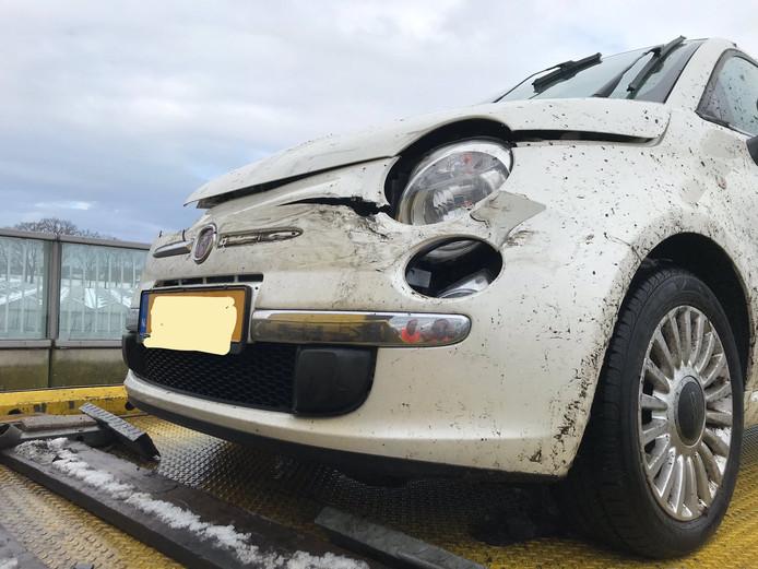 Eenzijdig ongeluk op A16 bij Breda.