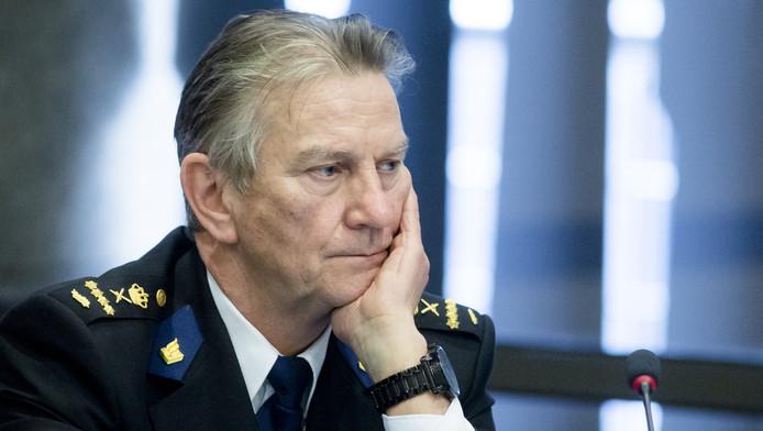 Korpschef Bouman.