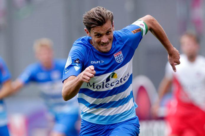 Etienne Reijnen stopt - mede door blessureleed - met voetballen en gaat een jaar eerder dan verwacht een andere rol bij PEC Zwolle bekleden. De 33-jarige verdediger treedt toe tot het scoutingsteam.