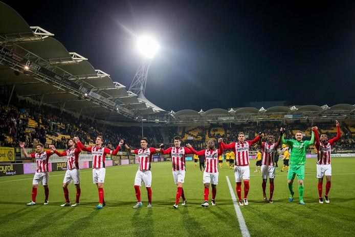 PSV boekte vorige seizoen een gemakkelijke 0-3 zege