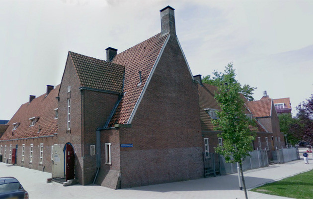 Het internaat aan de Polderstraat in Rotterdam.