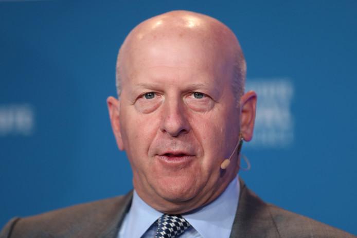Goldman Sachs-topman David Solomon.