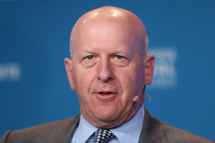 Goldman Sachs-topman David Solomon.