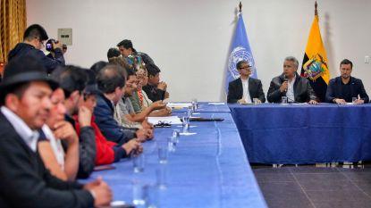 Protestleiders Ecuador eisen aftreden ministers