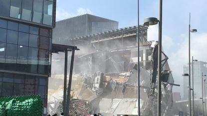 VIDEO. Nieuw winkelcentrum ingestort in Mexico-stad: bezoekers net op tijd geëvacueerd