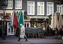 Een gesloten horecazaak in het centrum van Amsterdam.