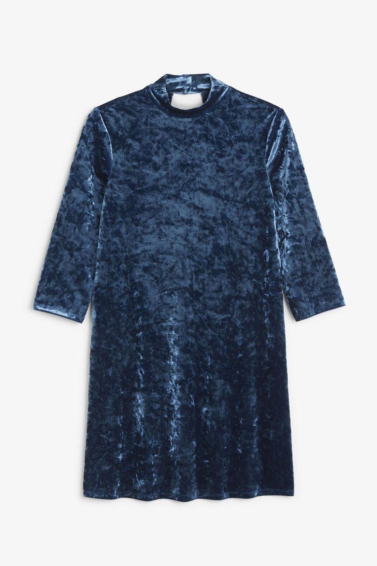 Aquablauw jurkje van Monki, € 25 Beeld .