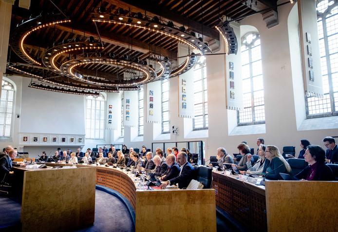 De vergadering van de Provinciale Staten van Zeeland, vrijdagochtend.