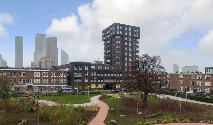 Het zorgcomplex in de Haagse Rivierenbuurt.