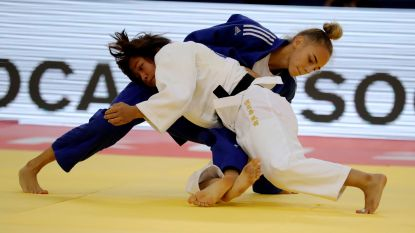 Oekraïense Bilodid (17) is jongste wereldkampioene ooit in judo - Belgen sneuvelen al vroeg op eerste dag in Bakoe