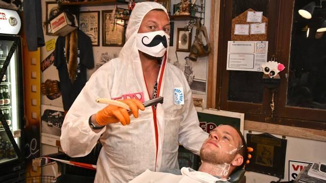 """Maat is vol voor barbier Mister Steve, die heropent op 1 februari: """"We moeten een signaal geven"""""""