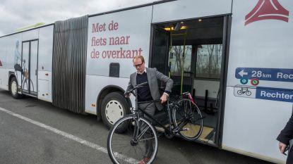 Na de waterbus, nu de fietsbus
