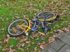 Het linkste punt van Oisterwijk: daar waar de Baerdijk het fietspad kruist