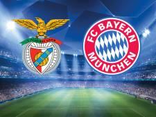 LIVE | Bayern met Robben en Ribéry tegen Benfica
