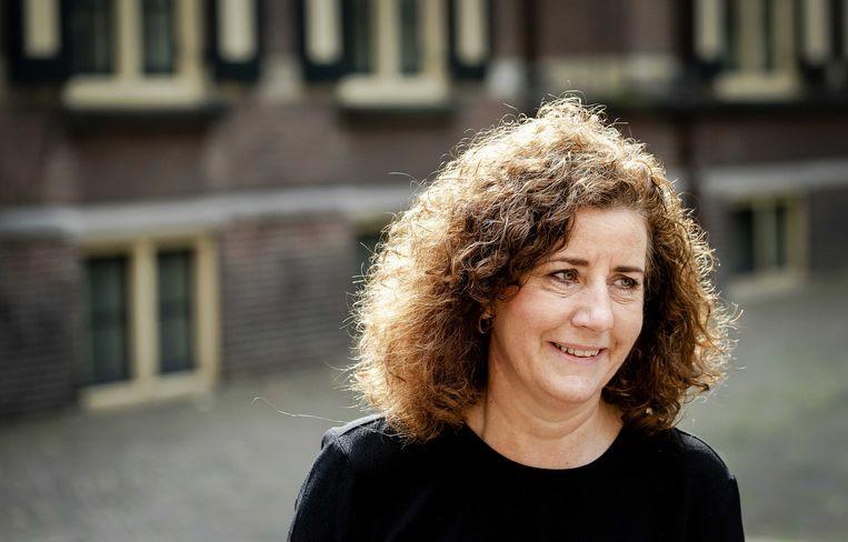 Minister Ingrid van Engelshoven van Onderwijs, Cultuur & Wetenschap (D66). De minister wil internationalisering verder doorzetten, maar de scherpe kantjes ervan af halen. Beeld ANP