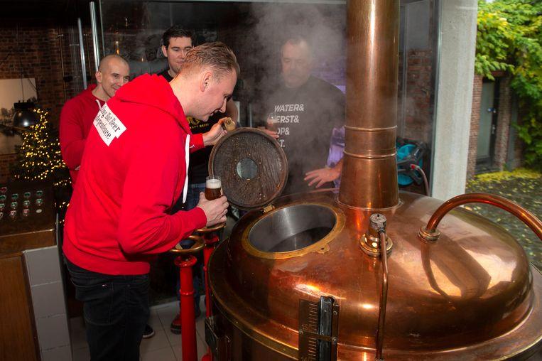 Het bier dat is gebrouwen, is een IPA en zal dus ook naar Polen gaan.
