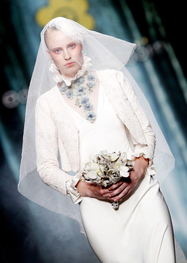 De bruid van Edwin Oudshoorn. Beeld ANP