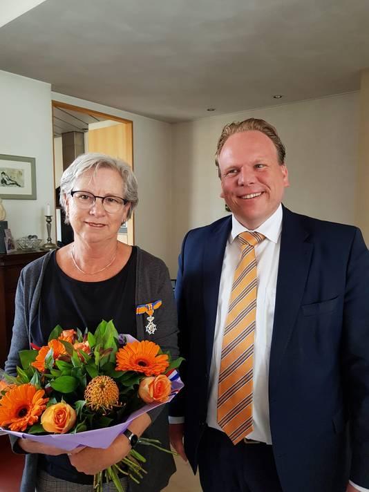 Thea Tielen-Goverde (66, Zevenbergen) - Lid in de Orde van Oranje-Nassau