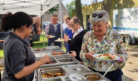 De vrijwilligersbarbecue in Ravels