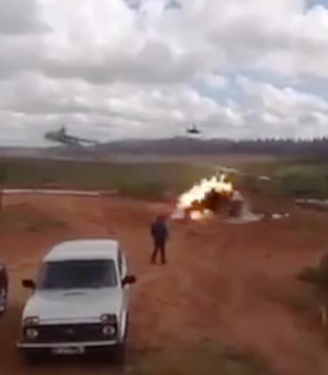 'Russische helikopter schiet per ongeluk op journalisten'