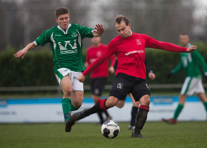 AVW'66 bleef in 2G op 0-0 steken tegen FC Horst. Foto Theo Kock