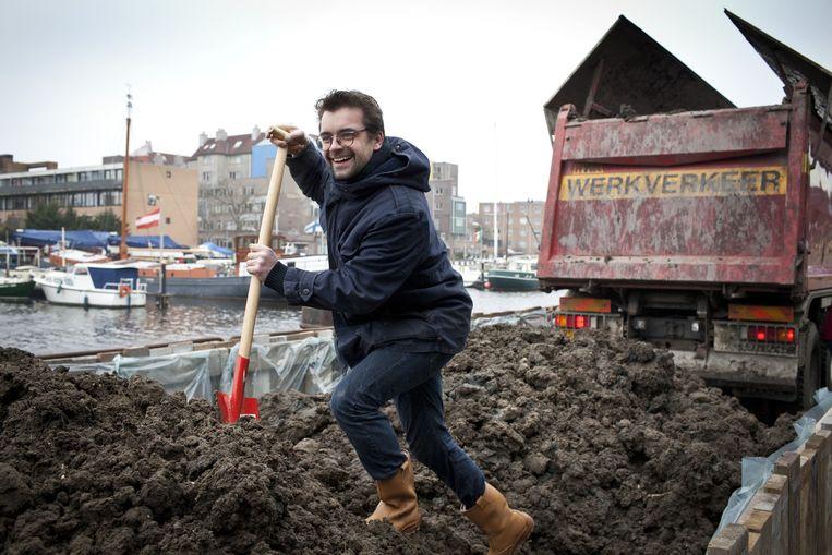In 2013 trok Joris Jansen veel bekijks met de Tostifabriek. Beeld Floris Lok