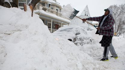 Noodtoestand in Boston om extreme sneeuwval