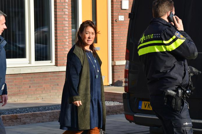 Ook de burgemeester van Rucphen kwam op bezoek.