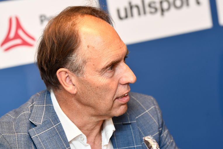 Waasland-Beverenvoorzitter Dirk Huyck.