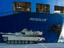 Déploiement massif de chars américains en Europe de l'est