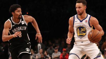 Curry steelt de show, maar moet ook van het veld in NBA