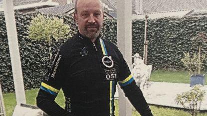 Wielertoerist Jacques Martin (55) wordt onwel na rit op weg naar huis en overlijdt paar dagen later
