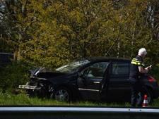 Automobilist gewond bij ongeluk op A32