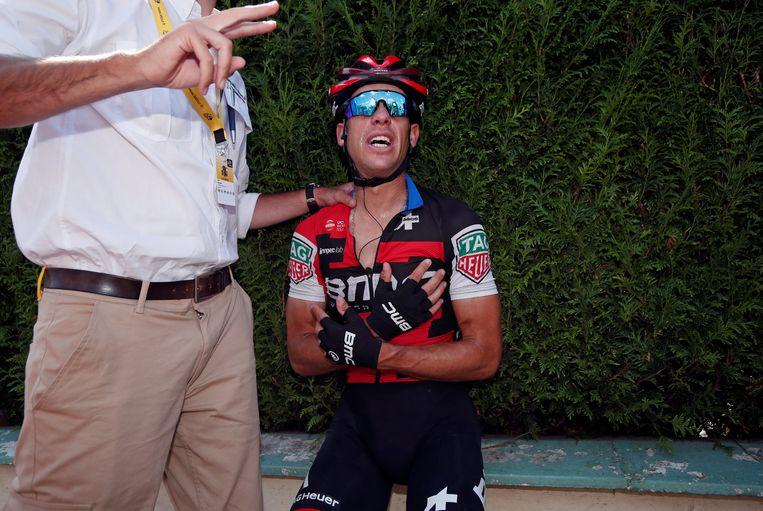 Porte verdween vorige maand nog uit de Tour na een valpartij in de rit naar Roubaix.