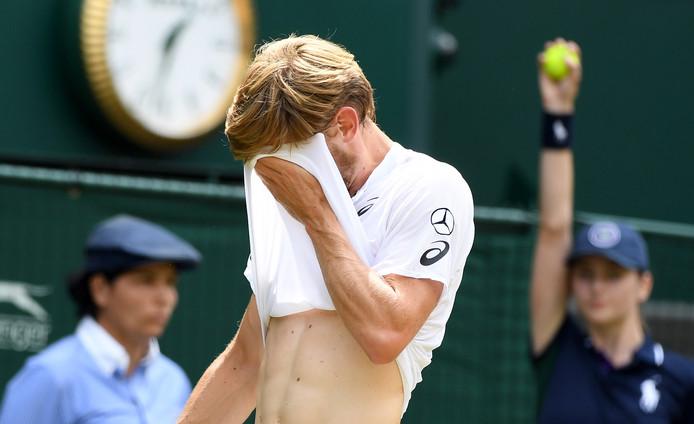 Pour son premier quart de finale sur le gazon de Wimbledon, David Goffin n'a pas fait le poids face à Novak Djokovic. Après une très bonne entame de match, le Liégeois s'est écroulé  (6-4, 6-0, 6-2).
