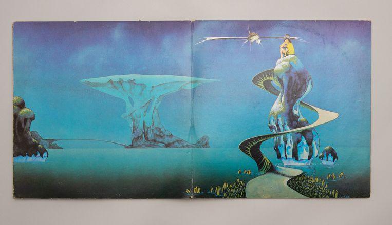 Yessongs (1973) van Yes door Roger Dean. Beeld RV