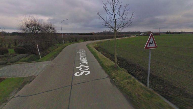 Het ongeval gebeurde in de Schoutenhoefstraat.