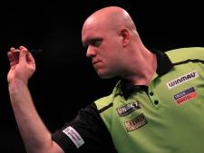 Loodzware loting voor Michael van Gerwen bij World Series of Darts Finals