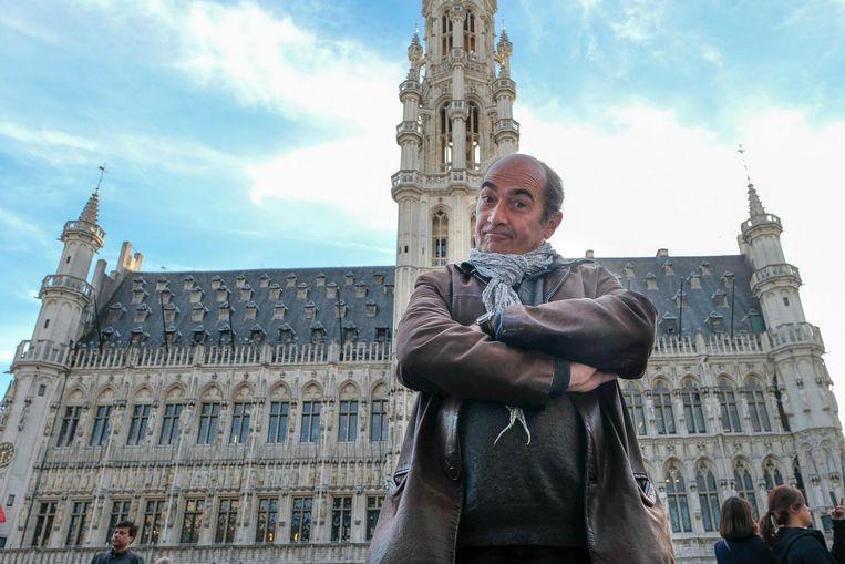 Jean-Michel Briou op de Grote Markt.