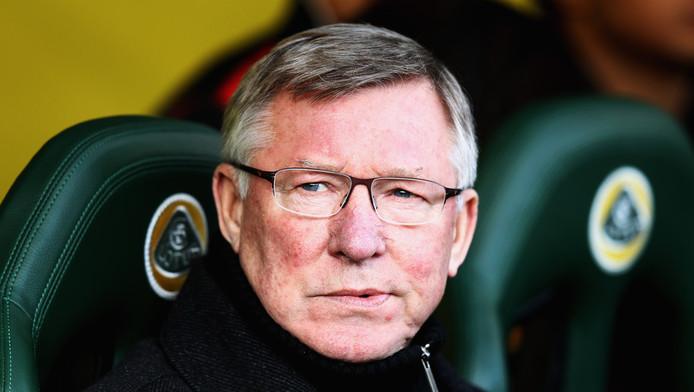Sir Alex Ferguson, manager van Manchester United, die volgens Arquimedes Nganga bijna zijn trainer was geweest.