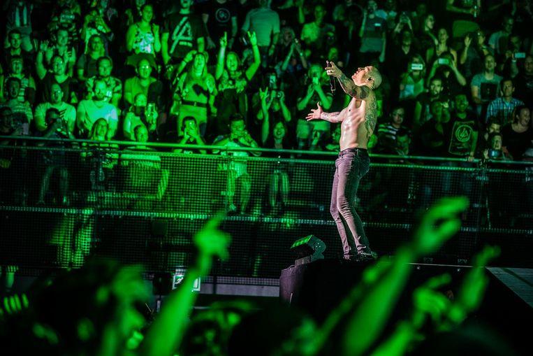 Linkin Park @ Ziggo Dome, juni 2017 Beeld Ben Houdijk